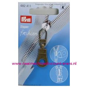 Modische Schuiver Ring Oudmessing Prym art. nr. 482411 - 1409