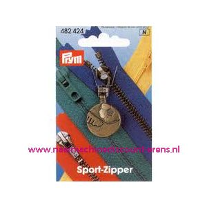 001410 / Sportschuiver Voetbal Oudmessing Prym art. nr. 482424