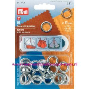 001417 / Ringen En Schijven Ms Zilverkleurig 11,0 Mm art. nr. 541370