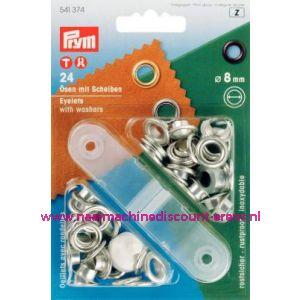 001420 / Ringen En Schijven Ms Zilverkleurig 8,0 Mm art. nr. 541374