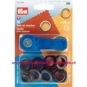 Ringen En Schijven Ms Brons 14,0 Mm Prym art. nr. 541384 - 1425