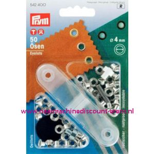 Ringen Ms Zilverkleurig 4,0 Mm Prym art. nr. 542400 - 1427
