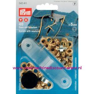 001431 / Ringen En schijven Ms Goudkleurig 5,0 Mm art. nr.542411