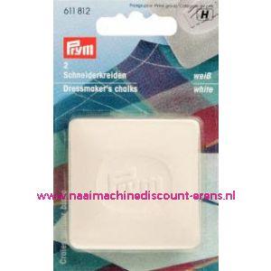 Kleermakerskrijt Wit Prym art. nr. 611812