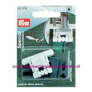 001527 / Ritssluitingen Voet Voor Blinde Rits Prym art. nr. 611974