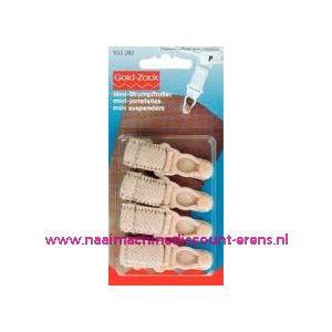 Mini-Jarretel Ruche-Veloursband Kst 15 Mm Huidskl. nr.933282 - 1573