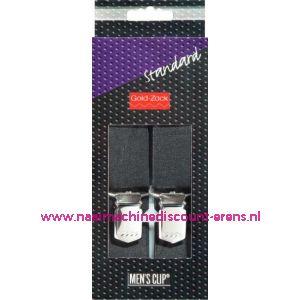 001579 / Men Clips Standaard 125 Cm 30 Mm Zwart art. nr. 944000