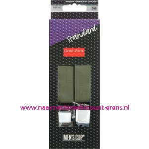 Men Clips Standaard 110 Cm 25 Mm Groen art. nr. 944143 - 1585