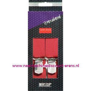 Men Cips Standaard 110 Cm 25 Mm Bordeaux art. nr. 944173 - 1588