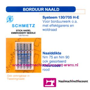 Borduurnaalden 130/705-H-E-75 - 1707