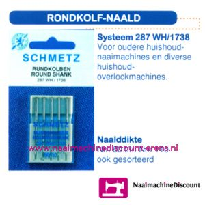 Rondekolf Naald 287 WH/1738-70 - 1728