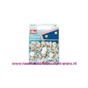 Punaises ijzer kap wit prym art. 241251 - 2235