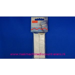 002238 / Mouwophouders elastiek stof wit prym art. nr. 948040