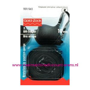 Bh-band dragers zwart 10 Mm prym art. nr. 991941 - 2317