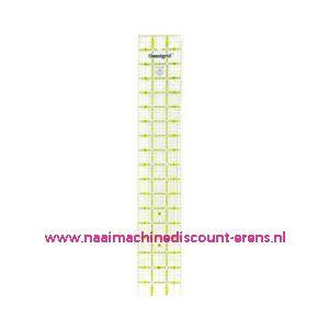 Universele liniaal 3 inch x 18 inch prym art. nr. 611646