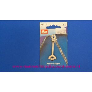 Fashion Zipper Zilver prym art. nr. 482112 - 2364
