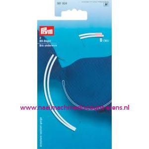 Bh-Beugel Maat B 90 Wit Goldzack art. nr. 991804 - 2377