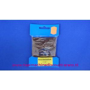 Elastisch Koord 1,5 Mm Donker Bruin Discount - 2415