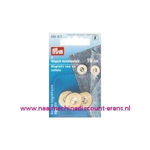 Magneetknopen Goud prym art. nr. 416471 - 2432