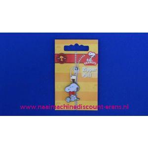 PEANUTS SNOOPY zipper pull - 2485