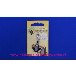 Der KLEINE MAULWURF zipper pull - 2508