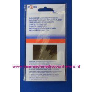 Reparatiedoek DONKER BRUIN 11 x 25 Cm - 2566