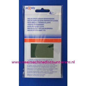 Reparatiedoek DONKER BLAUW 11 x 25 Cm - 2576