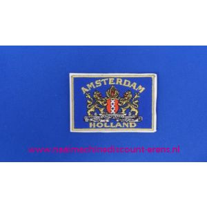 Amsterdam - Holland blauw - 2764
