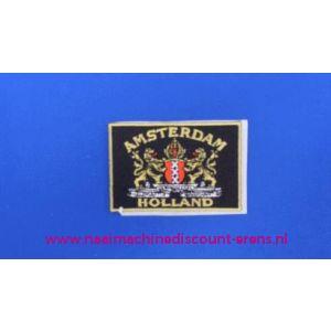 Amsterdam - Holland zwart - 2765