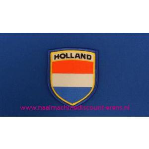 Holland Rood-Wit-blauw schild - 2778