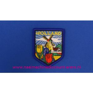 Holland Molen Tulpen Blauw schild - 2780