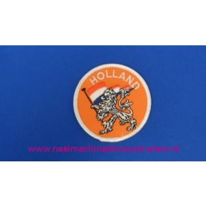 Holland Oranje Leeuw Rond - 2785