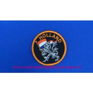 Holland Zwart Leeuw Rond - 2786