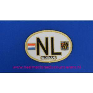 NL Kentekenplaat Oud Ovaal - 2787