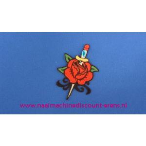 002789 / Rode Roos met Zwaard