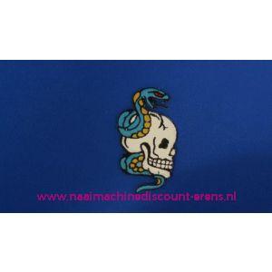 Doodskop met Blauwe Slang - 2790