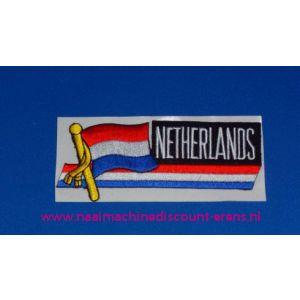 Netherlands + Vlag - 2795