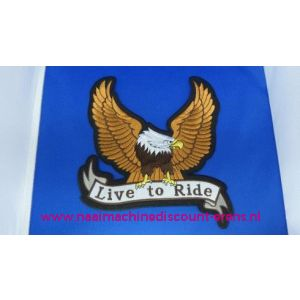 Live To Ride Eagle - 2797