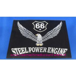 002836 / Steel Power Engine Zwart