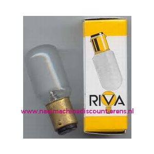 RIVA Bajonet B15 - 15 Watt - 2906