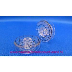 002912 / Singer spoeltjes Plastic auto - 5 Stuks