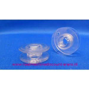 002922 / Husqvarna spoeltjes Plastic Viking - 10 Stuks