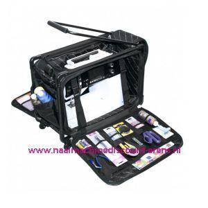 """TUTTO Trolley voor naaimachine """"MEDIUM"""" zwart"""