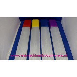 Breinaalden koker Plastic / 003002