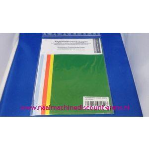 Kopieerpapier 5 kleuren 170 Mm x 500 Mm