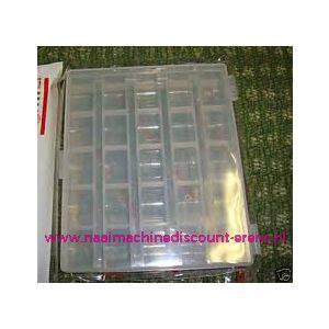 003087 / Sew Mate Spoelendoos voor 25 spoeltjes