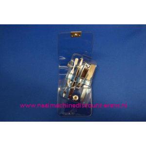 "Manicure set Luxe 4-delig ""blauw"" - 3196"