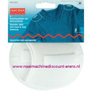 003250 / Schoudervulling raglan wit klein+klitterband art.nr.993830