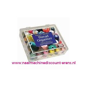 "Raiman Thread Organiser ""Tall Box"" 30 Mini Cones"