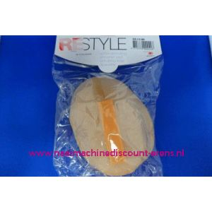 Schoudervulling RESTYLE raglan huidskleur met klittenband - 3271